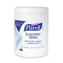 `PURELL`:lingettes desinfectantes/270pc/15.2x17.1cm N°d'agréation NOTIF 778 photo du produit