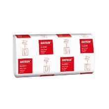 Katrin classic zz2 wide - essuie-mains - 2plis - blanc - 24,4x23cm - 150f photo du produit
