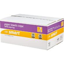 Smart : essuie-main - recyclé - C - 1 pli - naturel - 20 x 180 f. - 25 x 31 cm photo du produit