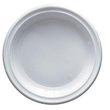 ASSIETTE RONDE P7 PS: blanc/D.17cm (10x100pc) photo du produit