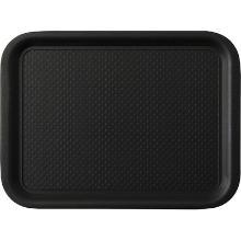 Black line : plateau - 35 x 26cm - thermoplastique - couche antidérapante photo du produit