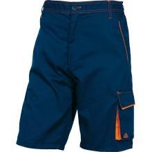 `M6BER`: BERMUDA Bleu marine -Orange/L Polyester coton [0M6BERBMPT] photo du produit