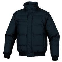 `RANDERS BLOUSON` Bleu Marine - matelassé / taille-L manches amovibles - pol photo du produit