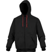 CENTO VESTE SWEAT noir-rouge/t.-XL photo du produit
