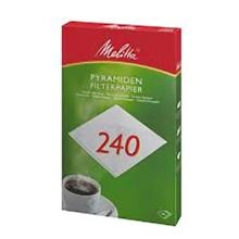 `FILTRE A CAFE ROND MELITTA`: 244MM (1x500) photo du produit