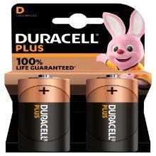 Piles Duracell pluspower duralock D/2 [105478/114722] photo du produit