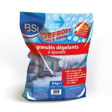 `GRANULES DE DENEIGEMENT` -15°C -250gr/m² -sac 8kg Remplace le sel-non polluant photo du produit