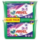 Ariel 3 en 1 : produit lessive - linge de couleur - pods - (2x42 pc) x 3 photo du produit