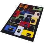 """`TAPIS """"DECO DESIGN""""` Déco intérieur - Modern 70's Lavables - 115x180cm photo du produit"""