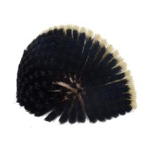 Ragebol zwart 130x75x45mm kunsthaar Artikel foto