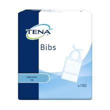 Tena Bibs Slab/servet blauw/wit M/L 37x68cm Artikel foto