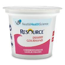 Nestlé resource dessert gourmand aardbei Artikel foto