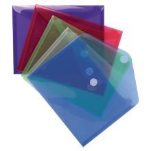 Exacompta enveloptassen documenthoezen A5 met velcrosluiting assorti Artikel foto