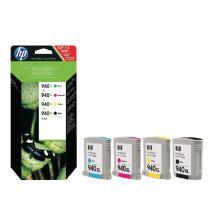 HP INK CARTRIDGE NO 940 XL CMYK 4 pack Artikel foto