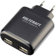 VOLTCRAFT SPAS-2400/2+ USB-oplader Thuis, Binnenlader USB 2 x 2400 mA Artikel foto