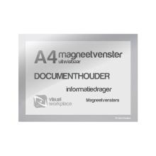 Magneetvenster A4 zilver Artikel foto