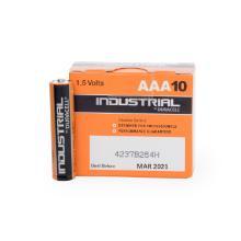 Batterij type AAA alkaline Duracell IndustrialLETOP!! Wij bestellen per pakje Artikel foto