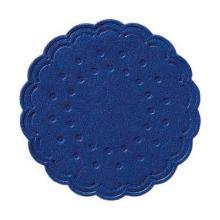 Druppelvanger donkerblauw 8-laags tissue diameter 75mm Artikel foto