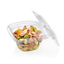 Schaal salade met deksel 360ml pla Artikel foto