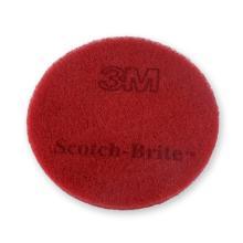 Pad vloer rood 17inch/43cm polyester Scotch-Brite Artikel foto