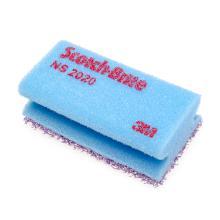 Schuurspons paars-blauw 70x130mm nailsaver Scotch-brite Artikel foto
