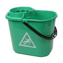 Mopemmer spaans met korf groen 14ltr Artikel foto