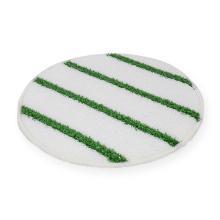 Pad bonnet wit met groene streep 17 inch Artikel foto