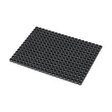 Rubber roostermat zonder randen 80x60cm Oct-O-Mat zwart Notrax Artikel foto