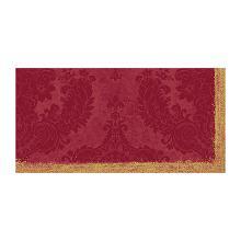 Napperon dessin royal bordeaux dunicel 84x84cm Artikel foto