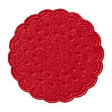Druppelvanger rood diameter 75mm papier Artikel foto