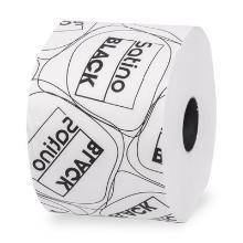 Toiletpapier bio wit 2 laags compactrol 98mmx100m Satino Black Artikel foto