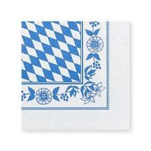Servet dessin oktoberfest bayerische raute 3 laags tissue 33x33cm Artikel foto