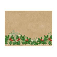 Placemat dessin snowy berries papier 30x40cm Artikel foto