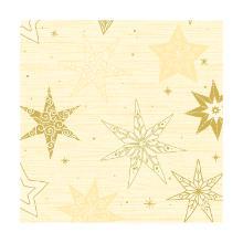 Servet dessin star stories cream 3 laags tissue 40x40cm Artikel foto