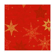 Servet classic dessin star stories red 4 laags tissue 40x40cm op=op Artikel foto