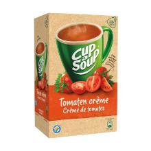 Soep portieverpakking tomaat creme 175ml Cup-a-soup Artikel foto