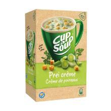 Soep portieverpakking prei creme 175ml Cup-a-soup Artikel foto