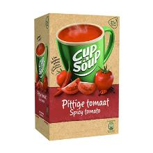 Soep portieverpakking pittige tomaat 175ml Cup-a-soup Artikel foto