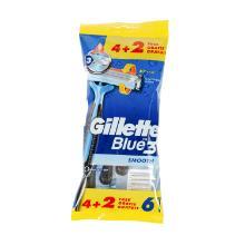 Scheermes razor blue III 4+2/pak Gillette Artikel foto