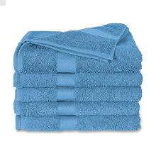 Handdoek badstof lichtblauw 50x100cm Artikel foto