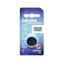 Batterij knoopcel cr2025 renata lithium 3,0v Artikel foto