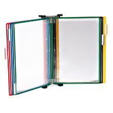 Wandhouder tarifold a4 met tassen diverse kleuren Artikel foto