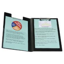 Klembord met pennenlus folio, zwart Artikel foto