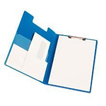 Klembord a4 pp blauw met omslag Artikel foto