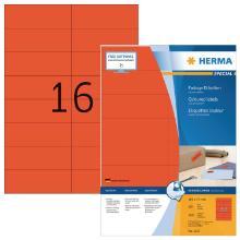 Herma 4257 etiket rood 105x37 Artikel foto