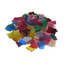 Glasmozaiek stukjes 200g assortiment mat transparant Artikel foto