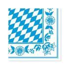 Servet dessin oktoberfest bayerische raute dunisoft 40x40cm Artikel foto