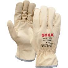 Nerflederen crème kleurige officiershandschoen Productfoto