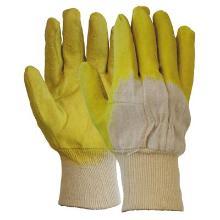 Latex gedompelde handschoen met open rugzijde Productfoto