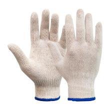 Round loom knitting polyester/cotton glove product photo
